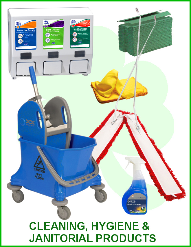 Go to Cleaning, Hygiene and Janitorial Products