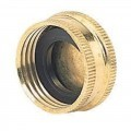 "1"" CAP BRASS C/W WASHER FOR DRAIN STOPPER"