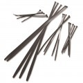 CABLE TIES 300x4.8mm BLACK (PACK=100)